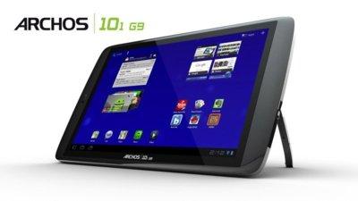 Archos presenta G9, su nueva familia de tablets Honeycomb