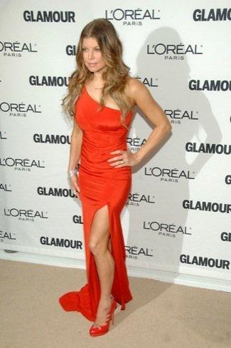 Premios Glamour de 2010: Fergie
