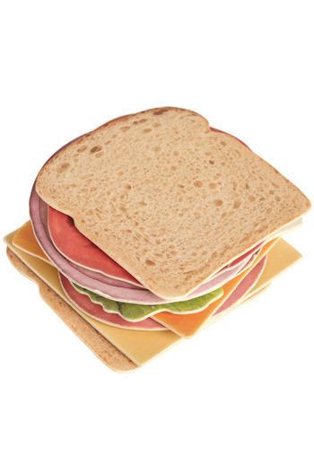 La adivinanza decorativa del viernes: sandwich