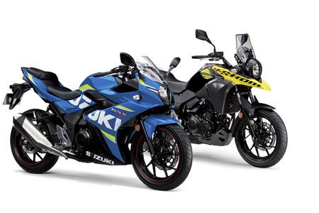 Ofensiva al cuarto de litro: Suzuki GSX-R 250 y Suzuki V-Strom 250