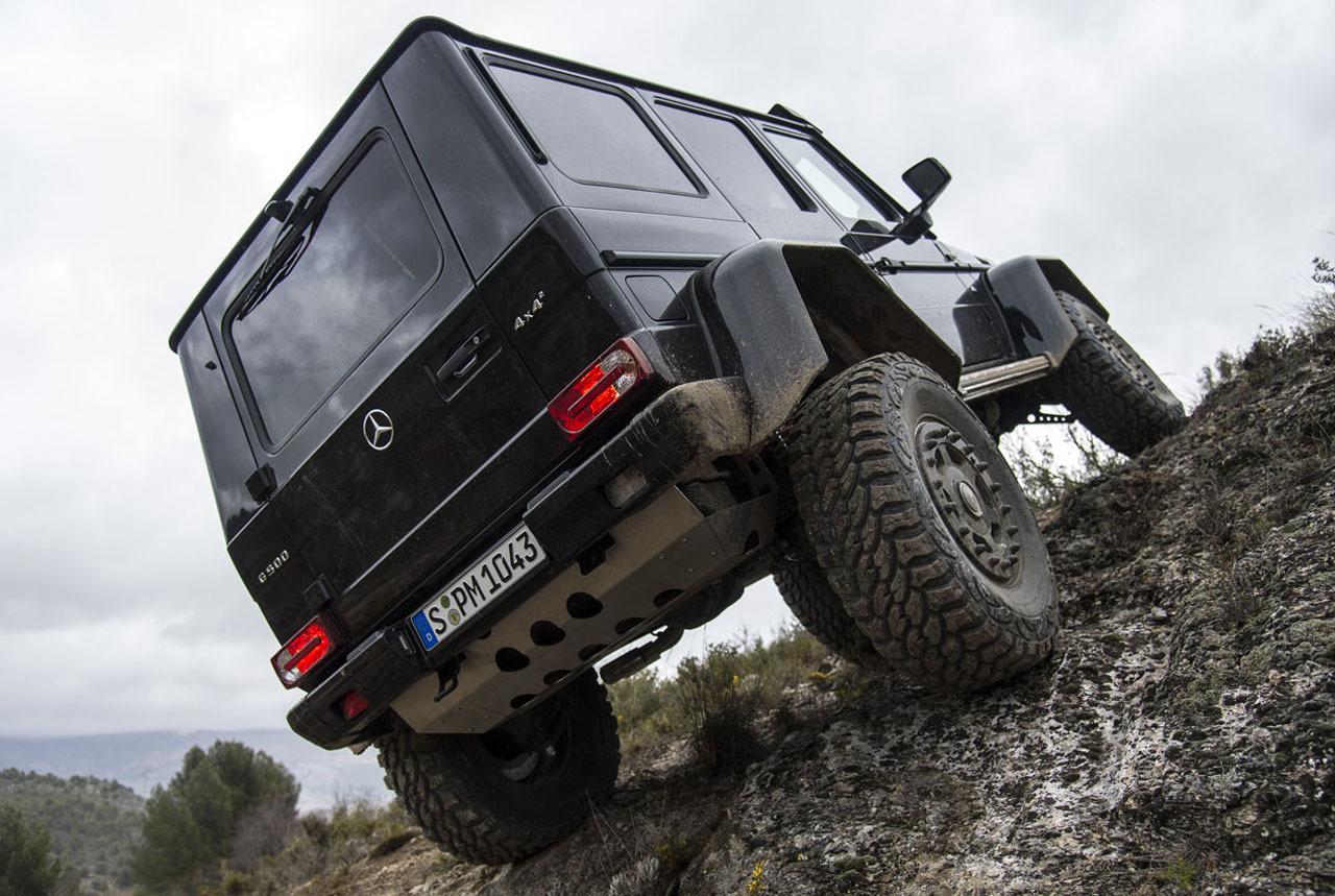 Foto de Mercedes-Benz G 500 4x4², toma de contacto (61/127)