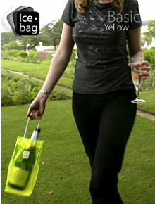 Ice Bag, trasporta y refresca tus vinos