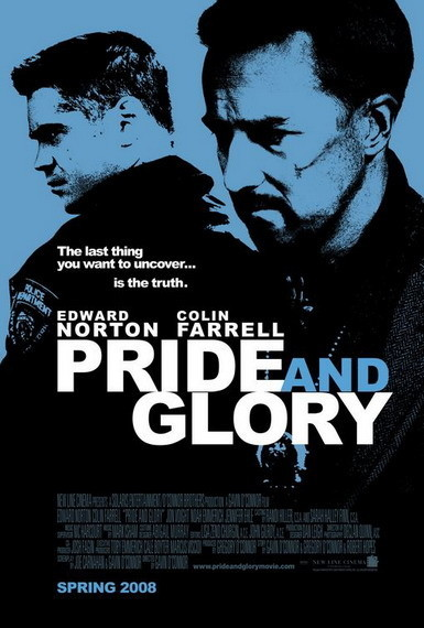 'Pride and Glory' con Edward Norton y Colin Farrell, póster y nuevo trailer