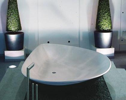 Bañera Mussel con forma de concha