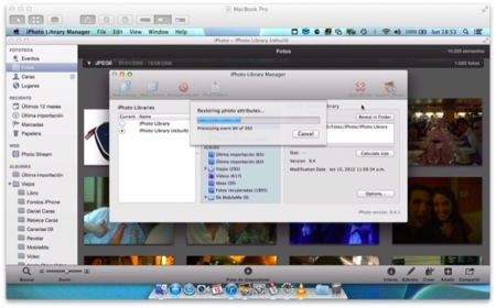 iPhoto Library Manager, soluciona los problemas de tu fototeca de forma simple