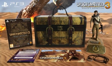 Uncharted 3 Explorer Edition: limitada traición de Drake
