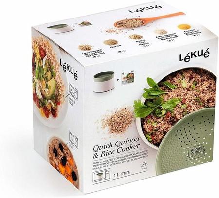 Lekue Recipiente Para Cocinar Quinoa Arroces Y Cereales 1 Litro