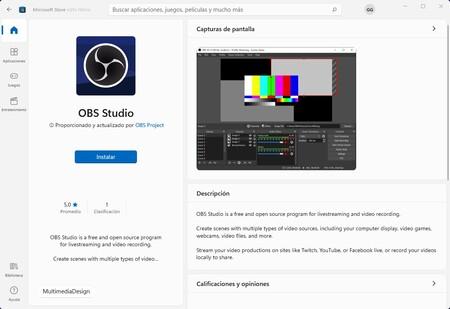 Obs Studio Microsoft Store Windows