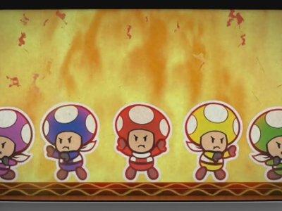 El Rescue V vuelve a la carga con las hazañas de los Toad azules en Paper Mario: Color Splash