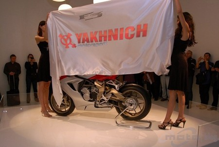Yakhnich Motorsport y MV Agusta unen sus fuerzas