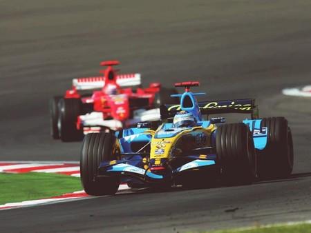 Alonso Schumacher Bahrein