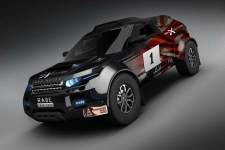Curiosidades en competición. Un Land Rover Evoque para el Dakar 2012