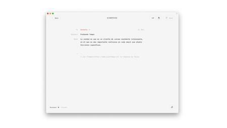 """Tempo es un cliente de correo para Gmail minimalista que te """"ayuda a concentrarte y tener mejores hábitos"""""""