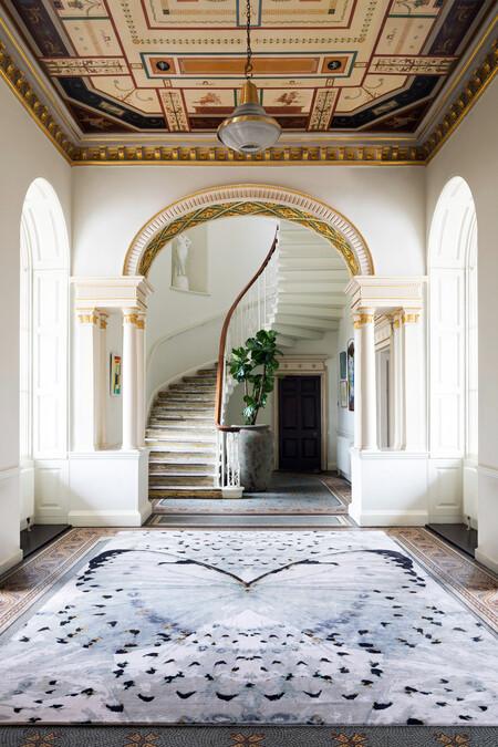 El lujo a tus pies con la nueva colección de alfombras de The Rug Company y Alexander McQueen