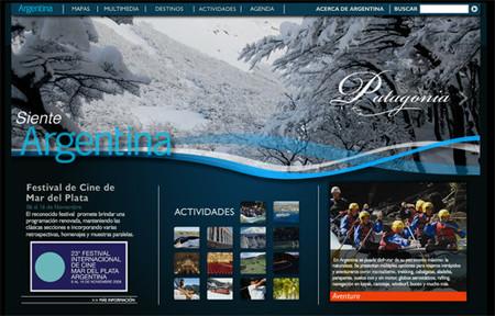 Nuevo portal de Argentina... punto travel