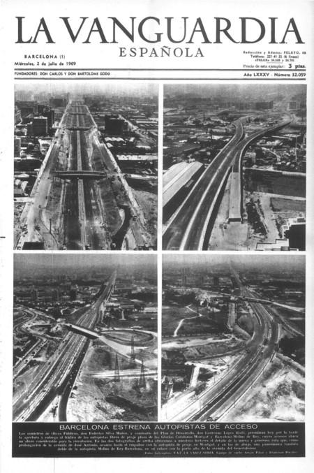Inauguracion Autopistas 1969