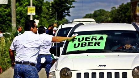 Continúan los problemas de Uber en Quintana Roo, México, quieren que el servicio sea considerado como transporte público