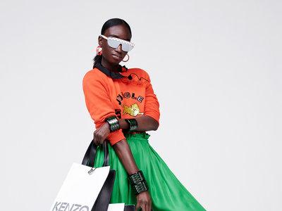 La colección de Kenzo x H&M ruge... Y las no fashionistas saldrán corriendo
