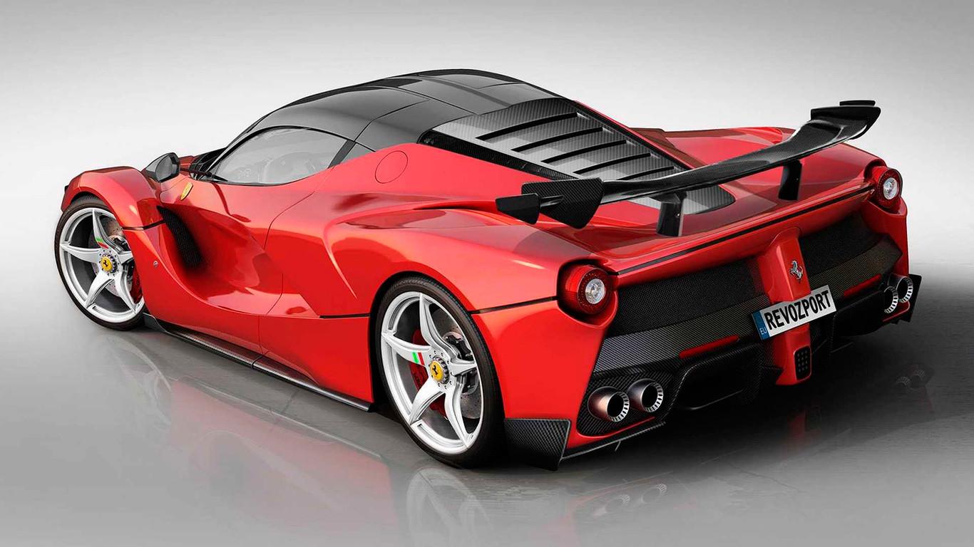 Este Ferrari Laferrari Queria Parecerse Al Ferrari Fxx K Evo Y Revozport Lo Ha Hecho Posible