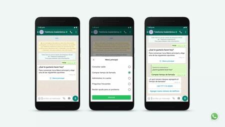 Estas son las nuevas opciones que WhatsApp te dará cuando quieras hablar con una empresa o negocio