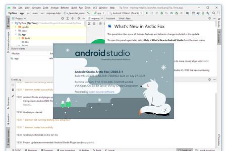 Android Studio Arctic Fox 2020.3.1 añade Jetpack Compose 1.0, exportar bases de datos, plantilla responsive y otros cambios