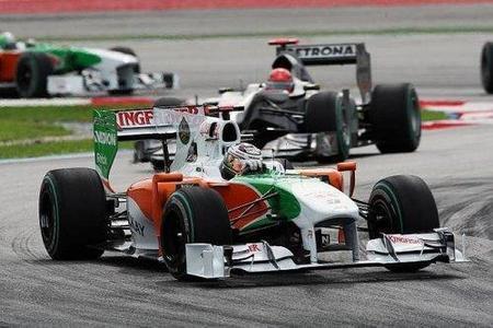GP de China 2010: Force India quiere seguir en la zona noble