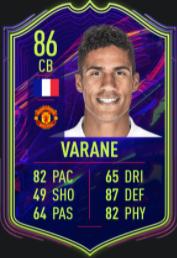 Varane Ones to Watch Promesas FIFA 22