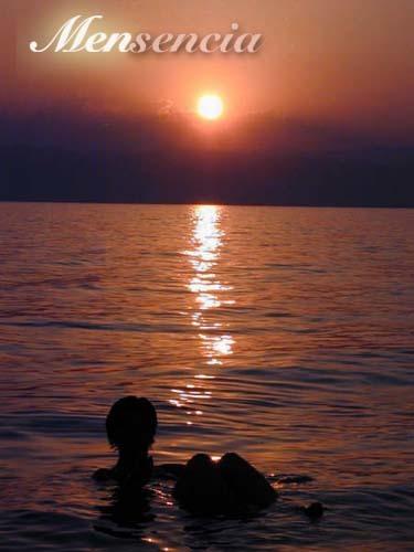 Mi piel después de flotar en el Mar Muerto