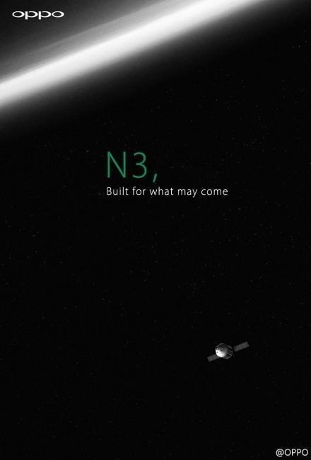 El nuevo Oppo N3 ¿con materiales de la industria aeroespacial?
