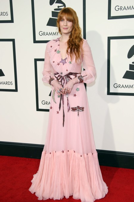 Florence Welch Grammy 2016