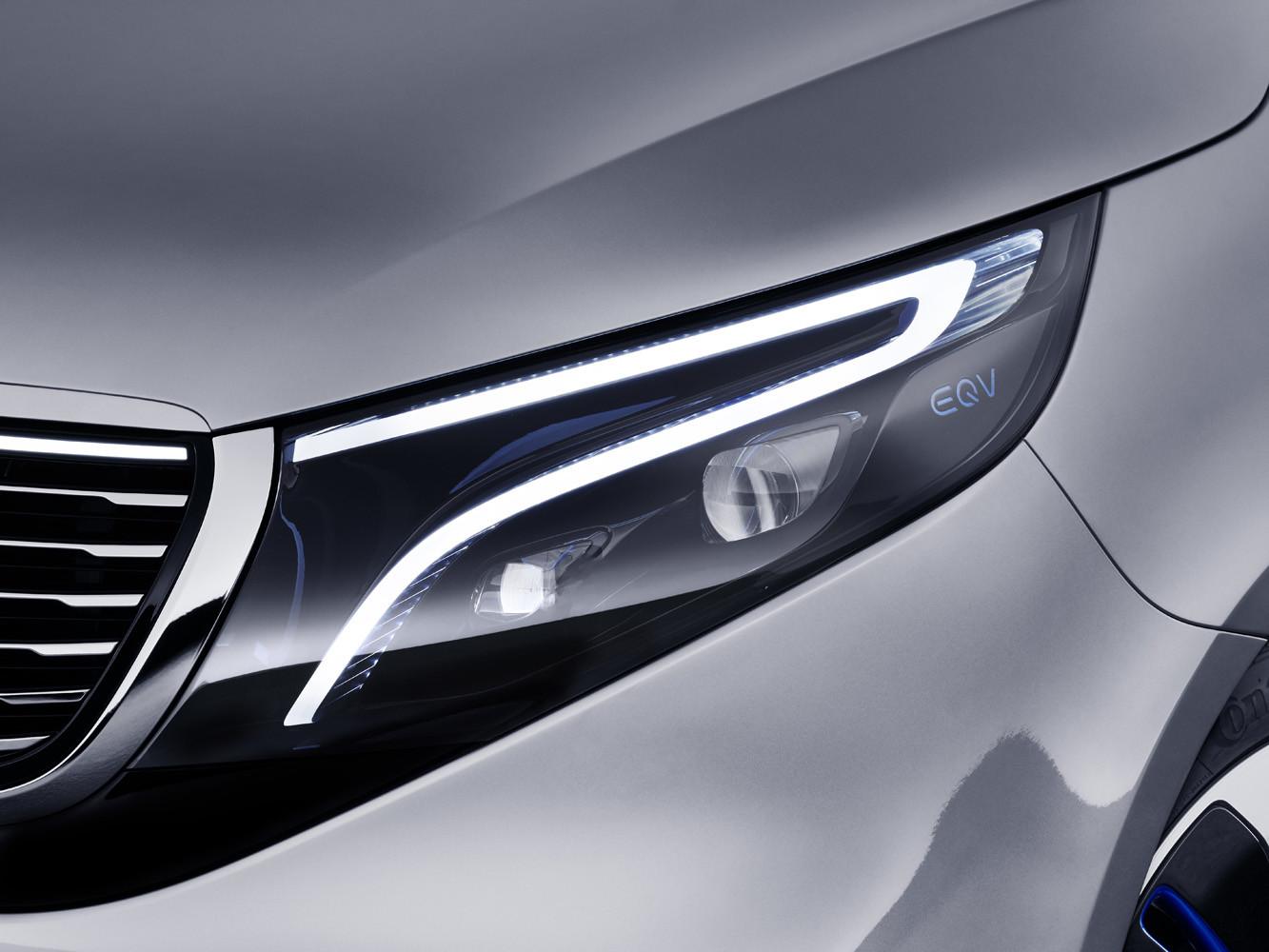 Foto de Mercedes-Benz Concept EQV (7/14)