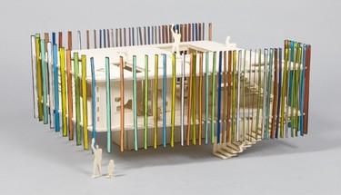 Lo mejor de la arquitectura británica moderna en versión casa de muñecas