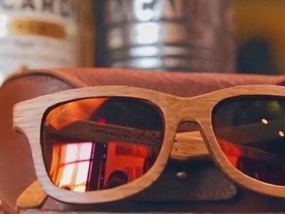 Bacardi recicla sus barricas diseñando los lentes de sol más cool del verano