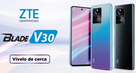 ZTE Blade V30 y Blade V30 Vita llegan a México: cuatro cámaras y 5,000 mAh para la gama media, lanzamiento y precio oficial