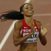Allyson Felix ha roto el récord de medallas de Usain Bolt (y lo ha hecho 10 meses después de dar a luz)
