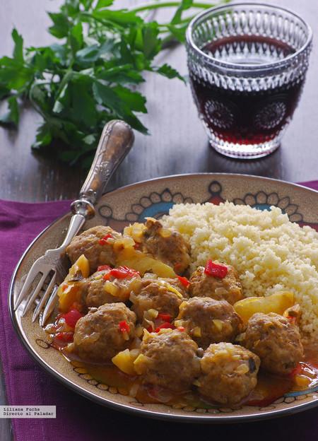 Keftas marroquís o albóndigas de ternera con limón
