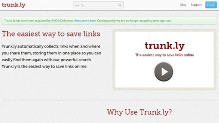 AVOS compra Trunk.ly para integrarlo a Delicious