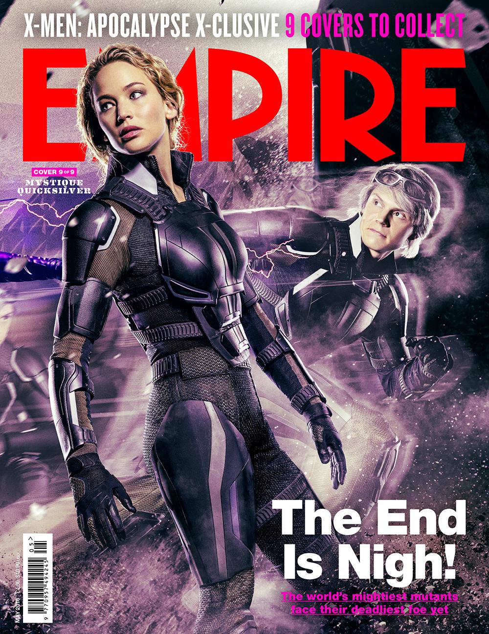Foto de 'X-Men: Apocalipsis', 9 portadas de Empire (9/9)