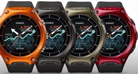 Casio Smart Outdoor Watch Wsd F10 Colors