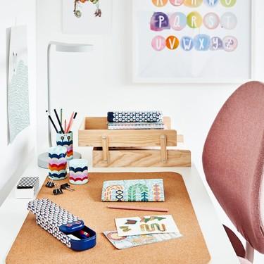 La vuelta al cole más deseada con Ikea y sus accesorios de papelería y organización del escritorio