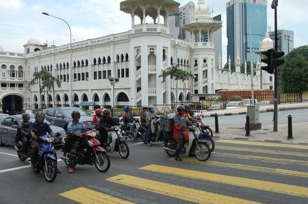 Estación Central de tren en Kuala Lumpur
