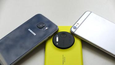 Galaxy S6 Edge, iPhone 6 Plus y Lumia 1020 enfrentados por ser el más completo smartphone fotográfico