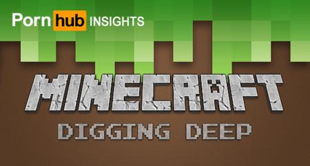 """Aumenta la búsqueda de la palabra """"Minecraft"""" en sitio porno"""