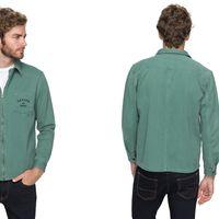 Por 28 euros podemos hacernos con la chaqueta para hombre con cremallera Riser Twill de Quiksilver en eBay