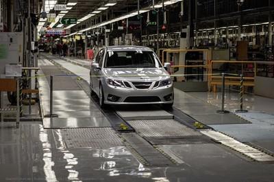 La producción del Saab 9-3 se reanuda el lunes