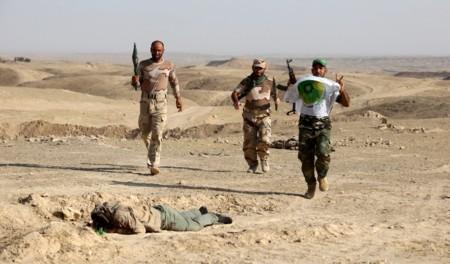 Muerte de soldado del ejército islámico