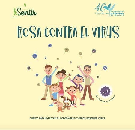 """""""Rosa contra el virus"""", el cuento gratuito que puedes descargar para hablar del coronavirus a los niños más pequeños"""