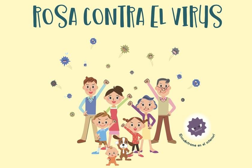 rosa contra el coronavirus