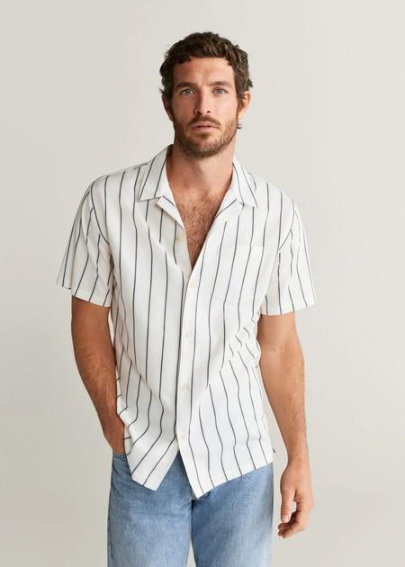 Siete Camisas A Rayas De Manga Corta Para Estilizar Nuestros Looks De Primavera