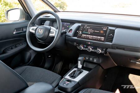 Honda Jazz eHEV interior prueba